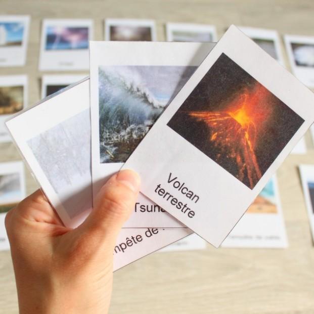 cartes nomenclatures phénomènes climatiques 4